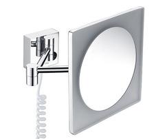 K-1008 Зеркало с LED-подсветкой, 3-х кратным увеличением WasserKRAFT
