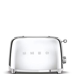 Тостер на 2 ломтика Smeg (Хром) TSF01SSEU