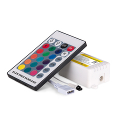 Контроллер для светодиодных лент RGB c ПДУ 12V (ИК) IP20 LSC 014 Elektrostandard