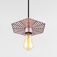 Подвесной светильник 50167/1 перламутровое золото Eurosvet