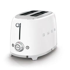 Тостер на 2 ломтика Smeg (Белый) TSF01WHEU