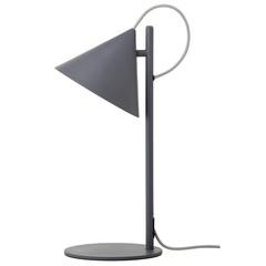 Лампа настольная Benjamin, серая матовая, серый шнур Frandsen 2493_276011