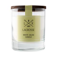 Свеча ароматическая Ambientair, Lacrosse, Белый мускус, в стекле, круглая, 40 ч Ambientair VV040MBLC