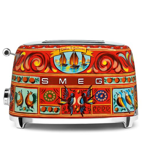 Тостер на 2 ломтика Smeg/Dolce&Gabbana TSF01DGEU