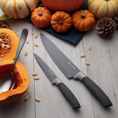 Набор из 5 ножей и подставки Horizon серый Viners v_0305.194
