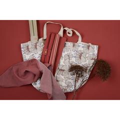 Набор салфеток под приборы из хлопка терракотового цвета из коллекции Prairie, 35х45 см Tkano TK20-PS0001