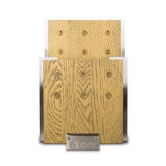 Подставка для ножей с магнитными держателями, ясень и сталь, Chef, CH-001/GL*