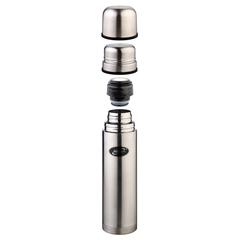 Термос Biostal (1 литр) 2 чашки, стальной NB-1000K2