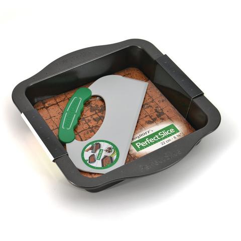 Противень квадратный с инструментом для нарезания 30*27*5см BergHOFF Perfect Slice 1100053