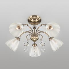 Потолочный светильник Eurosvet Floranse 30155/5 античная бронза