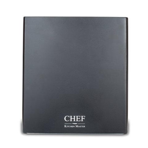 Подставка для ножей, ДСП, Chef, CH-002/BL