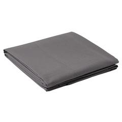 Скатерть из хлопка серого цвета из коллекции Prairie, 170х170 см Tkano TK20-TC0003