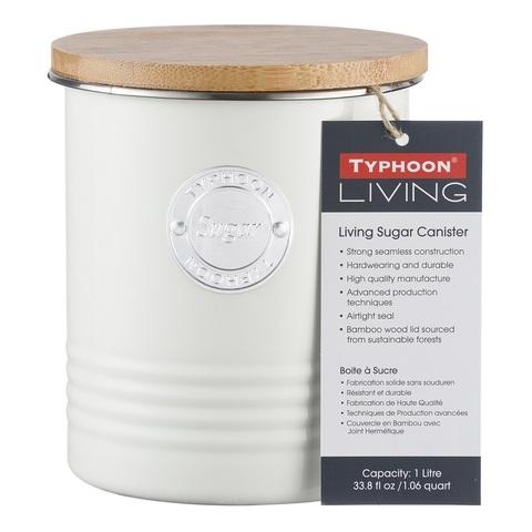 Емкость для хранения сахара Living, кремовая, 1 л TYPHOON 1400.976V