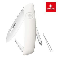 Швейцарский нож SWIZA D02 Standard, 95 мм, 6 функций, белый KNI.0020.1020