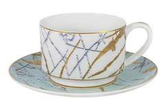 Чашка с блюдцем Марсель Anna Lafarg Emily 57512