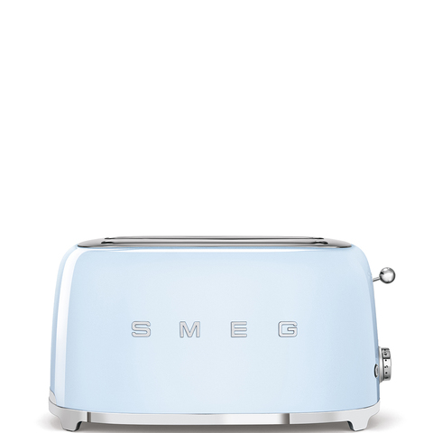 Тостер на 4 ломтика Smeg (Пастельный голубой) TSF02PBEU