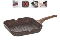 Сковорода-гриль GRETA с антипригарным покрытием Nadoba 728620