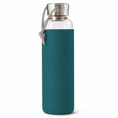 Бутылка для воды стеклянная 600 мл бирюзовая Black+Blum GR-WB-M005