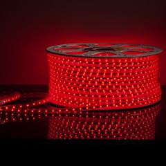 Светодиодная лента LS004 220V 4,8W 60Led 2835 IP65 красный Elektrostandard