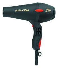 Фен Parlux 3000 Soft Touch, 1810 Вт, ионизация, 2 насадки, черный 0901-3000 black