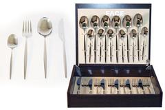Набор столовых приборов 24 предмета на 6 персон Cosmos в деревянной коробке. 32577