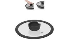 Стеклянная крышка FINA с силиконовым ободом, 20 см Nadoba 751015