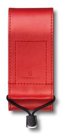 Чехол из искусственной кожи Victorinox, красный, для Swiss Officers Knife 111 мм толщиной 3 уровня, MV-4.0482.1
