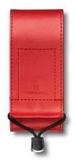 Чехол из искусственной кожи Victorinox, красный, для Swiss Officers Knife 111 мм толщиной 3 уровня, 4.0482.1