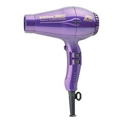 Фен Parlux 3800 Ceramic+Ionic, 2100 Вт, ионизация, 2 насадки, фиолетовый 0901-3800 violet