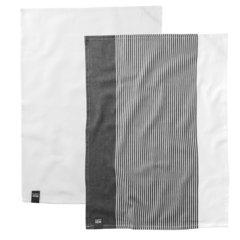 Набор из 2 чайных полотенец 50*70см Gem (серо-белые) BergHOFF 3990027