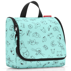 Сумка-органайзер Toiletbag cats and dogs mint Reisenthel WH4062