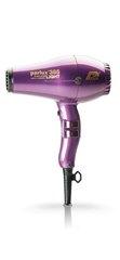 Фен Parlux 385 Power Light, 2150 Вт, ионизация, 2 насадки, фиолетовый 0901-385 violet