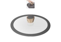 Стеклянная крышка MINERALICA с силиконовым ободом, 24 см Nadoba 751213*
