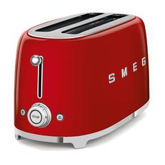 Тостер на 4 ломтика Smeg (Красный) TSF02RDEU