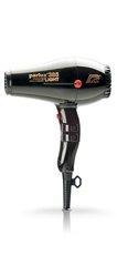 Фен Parlux 385 Power Light, 2150 Вт, ионизация, 2 насадки, черный 0901-385 black