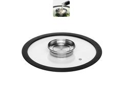 Стеклянная крышка NATA с силиконовым ободом, 24 см Nadoba 751513