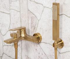 Aisch 5501 Смеситель для ванны с коротким изливом WasserKRAFT Серия Aisch 5500