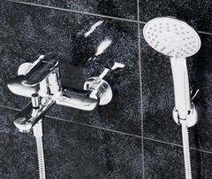 Vils 5601 Смеситель для ванны с коротким изливом WasserKRAFT Серия Vils 5600