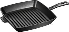 Сковорода-гриль квадратная, 26 см, черная Staub 12122623