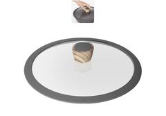 Стеклянная крышка MINERALICA с силиконовым ободом, 26 см Nadoba 751212