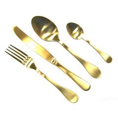 Набор столовых приборов (24 предмета / 6 персон) Herdmar ROCCO OLD GOLD 08930241600E16