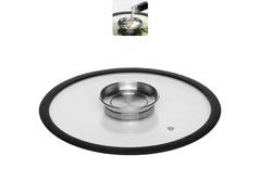 Стеклянная крышка NATA с силиконовым ободом, 26 см Nadoba 751512