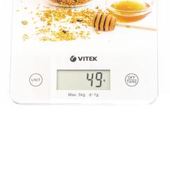 Весы кухонные  VITEK VT-8033(W)