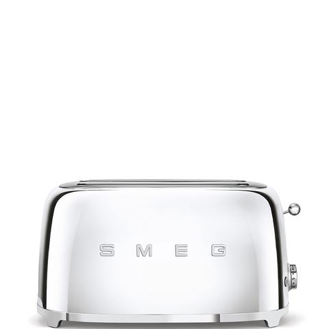 Тостер на 4 ломтика Smeg (Хром) TSF02SSEU