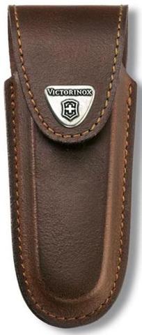 Чехол кожаный Victorinox, коричневый для Services pocket tools 111 мм, Pocket Multi Tools lock-blad MV-4.0537