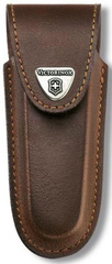 Чехол кожаный Victorinox, коричневый для Services pocket tools 111 мм, Pocket Multi Tools lock-blad 4.0537