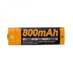 Аккумулятор 14500 Fenix ARB-L14 800mAh ARB-L14-800