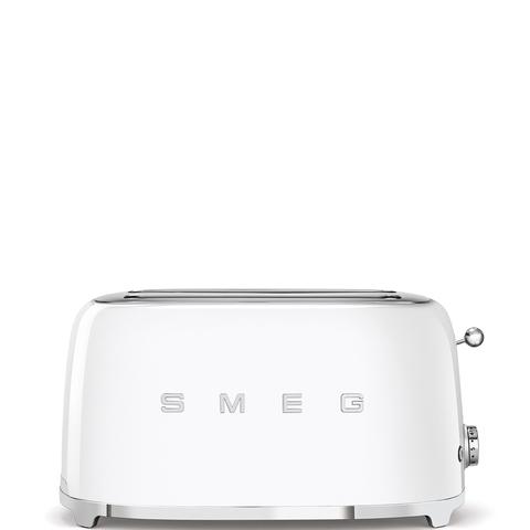 Тостер на 4 ломтика Smeg (Белый) TSF02WHEU