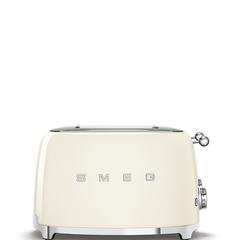 Тостер на 4 ломтика Smeg (Кремовый) TSF03CREU