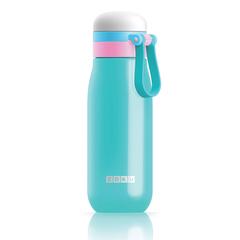 Бутылка вакуумная из нержавеющей стали 500 мл бирюзовая ZK203-TL